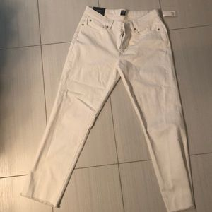 White Gap Jeans-New With Tags!